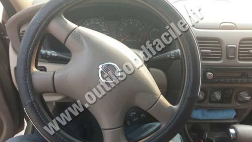 Nissan Sentra Obd Port Location