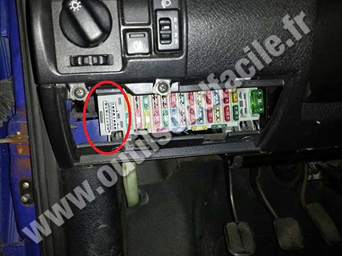 2005 Vibe Fuse Box Obd2 Connector Location In Opel Corsa B 1993 2000