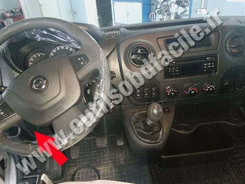2005 Vauxhall Tigra Fuse Box Location Obd2 Connector Location In Opel Movano B 2010