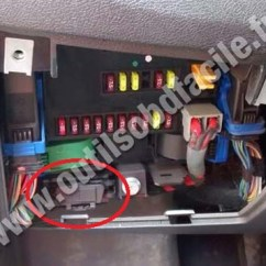 Peugeot 106 Wiring Diagram 98 Ford Ranger Fuse Obd2 Connector Location In Boxer (2006 - ) Outils Obd Facile