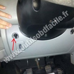 Renault Master 2006 Wiring Diagram Ge Induction Motor Obd2 Connector Location In (1997 - 2010) Outils Obd Facile