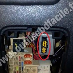 Relay Base Wiring Diagram Standard Serial Cable Obd2 Connector Location In Renault Master 3 (2010 - 2014) Outils Obd Facile