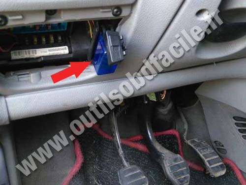 1992 Toyota Car Fuse Box Obd2 Connector Location In Renault Scenic 1996 2003