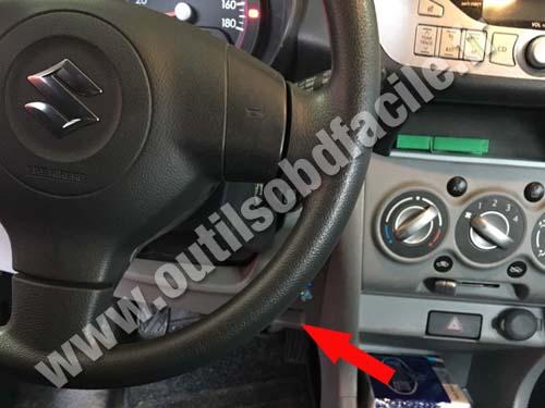 2006 Grand Vitara Fuse Box Obd2 Connector Location In Suzuki Alto 2009 2014