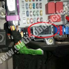 Pajero Wiring Diagram Acdelco One Wire Alternator Prise Obd2 Dans Les Fiat Idea (2003 - ) Outils Obd Facile
