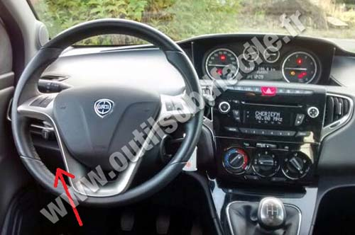 2006 Grand Vitara Fuse Box Prise Obd2 Dans Les Lancia Ypsilon 2011 Outils