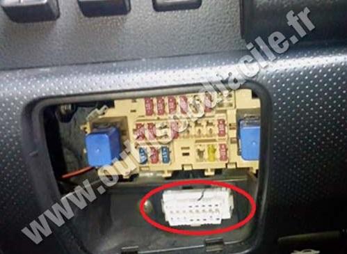 2013 Nissan Juke Fuse Box Diagram Prise Obd2 Dans Les Nissan Wingroad 2005 Outils Obd