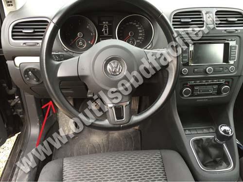 2005 Volkswagen Jetta Tdi Fuse Box Prise Obd2 Dans Les Volkswagen Golf Vi 2008 2012