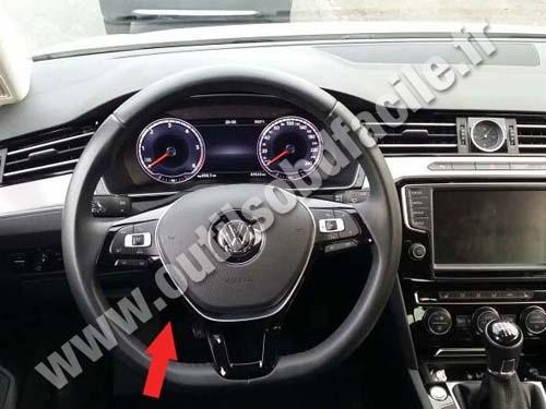 2005 Vw Golf Fuse Diagram Prise Obd2 Dans Les Volkswagen Passat B8 2015