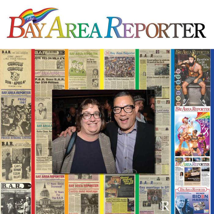 The Bay Area Reporter queer news outlet turns 50!