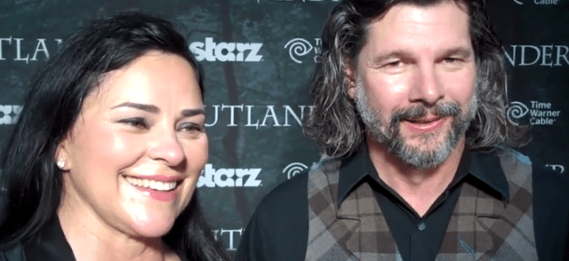Diana Gabaldon and Ron Moore, San Diego 'Outlander' World Premiere