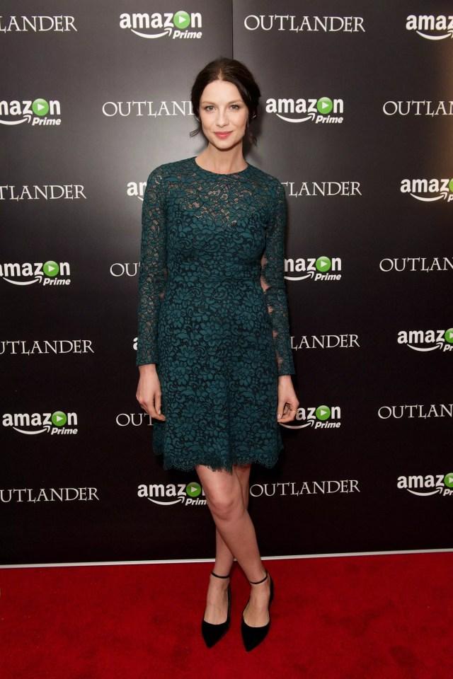 Caitriona Balfe at the Amazon Prime London Premiere of 'Outlander '