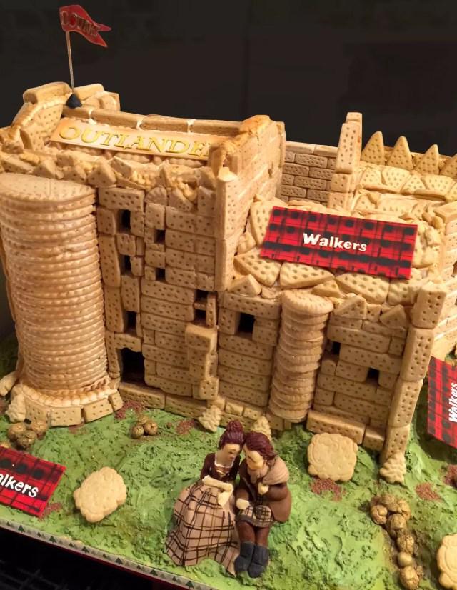 Walkers-Outlander Shortbread Castle