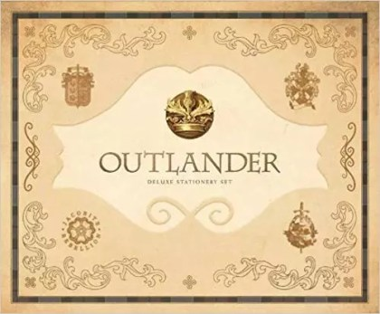 Insight Editions 'Outlander'-inspired Deluxe Stationery Set