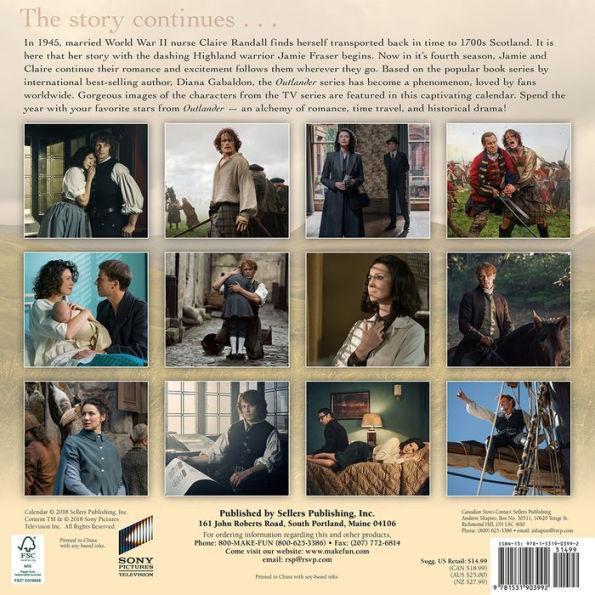 The 2019 Outlander Calendars  Outlander TV News