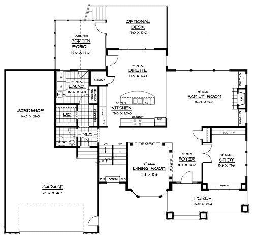 Floor Plans Outlaw Construction Inc