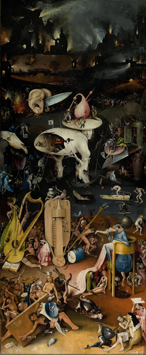 Hieronymus Bosch | The Garden of Earthly Delights (Hell).