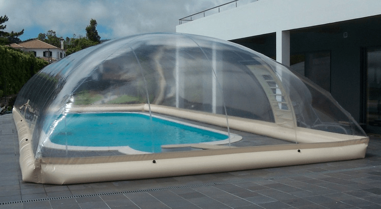 Cubierta Hinchable Dome Jessica  Blog Outlet Piscinas