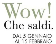 Saldi dinverno 2013 negli Outlet Fashion District