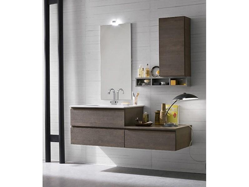 Arredamento bagno moderno mobile bagno sospeso Compab in