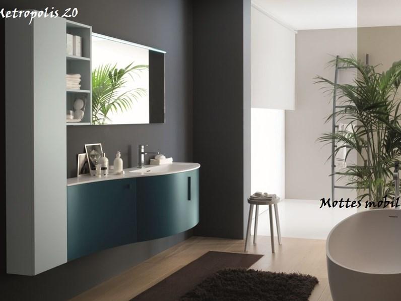 Arredo bagno moderno Metropolis Azzurra