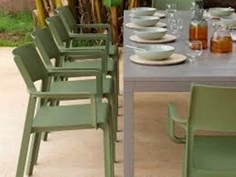 Divani, seggiole, tavoli per esterno dallo. Tavolo Da Giardino Tavolo Rio Sedie Trill Nardi Outdoor A Prezzo Scontato