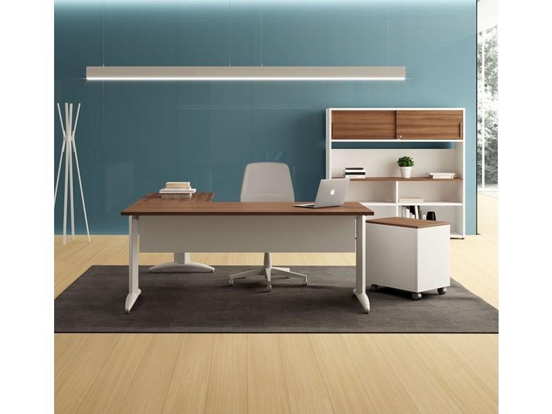 Time office srl produzione mobili legno mobili per ufficio; Scrivania Oxi Las Mobili Per Ufficio A Prezzo Scontato