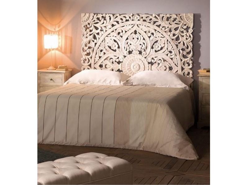 Svegliati con un trittico color seppia dietro alla testiera del letto, lascia che i ragazzi si. Camera Completa Camera Shabby Chic Indian Outlet Etnico In Legno A Prezzo Ribassato