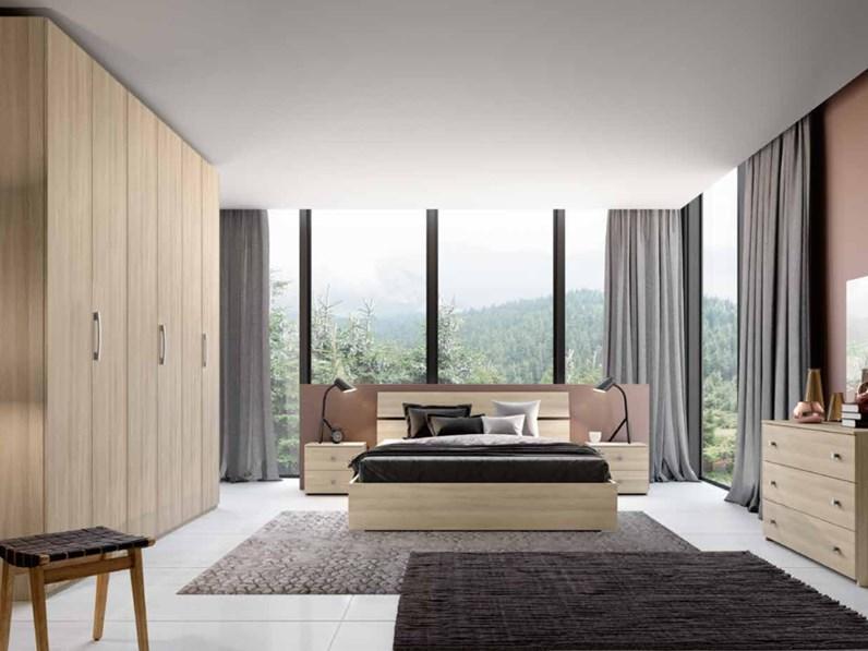 Camera da letto matrimoniale completa in stile moderno cod 55