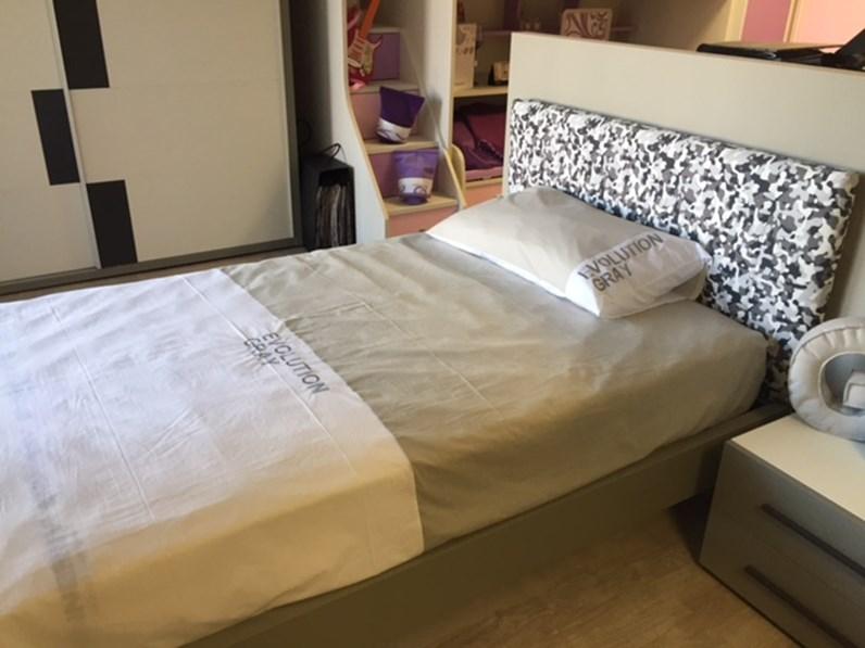 cameretta moretti compact per ragazzi con letto ad una piazza e mezza