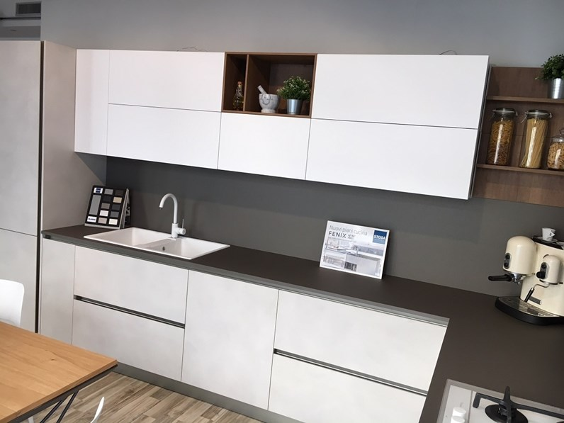 Cucina ad angolo Stosa Cucine INFINITY a PREZZI OUTLET
