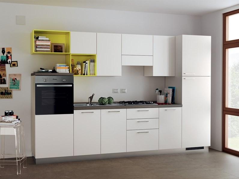 Cucina bianca design lineare Urban  urban minimal Scavolini