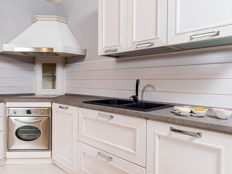 Cucina country ad angolo Stosa cucine Montecarlo in legno