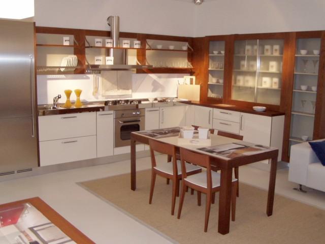 Cucine Moderne Color Ciliegio QN53  Regardsdefemmes