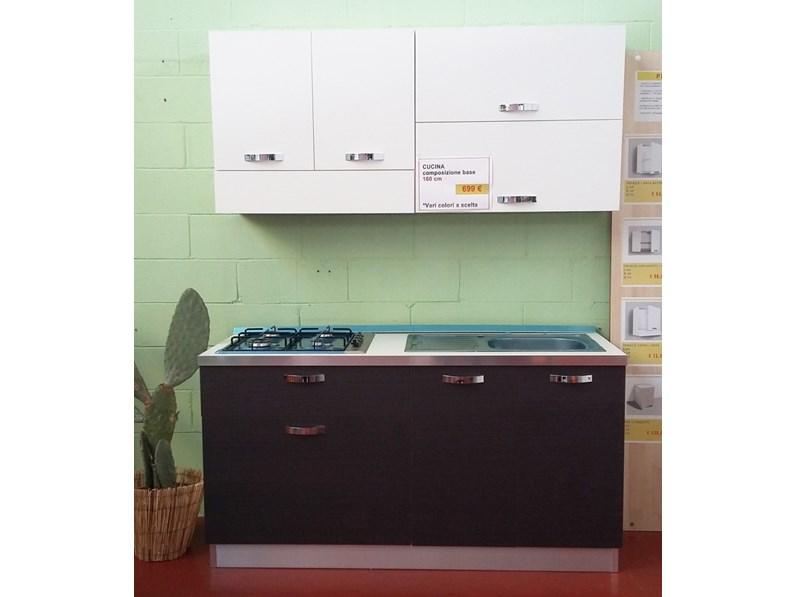 Cucina lineare 160 cm ideale per piccoli spazi  OFFERTA