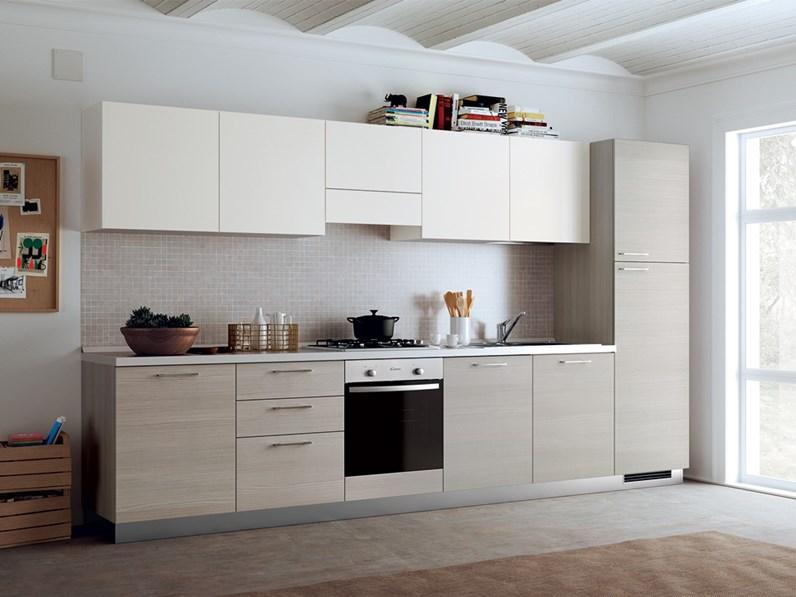 Cucina lineare design Urban  urban minimal Scavolini a prezzo scontato