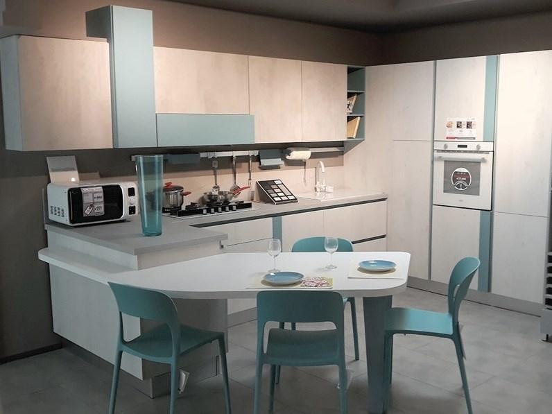 Cucina Lube cucine design ad angolo con penisola mod