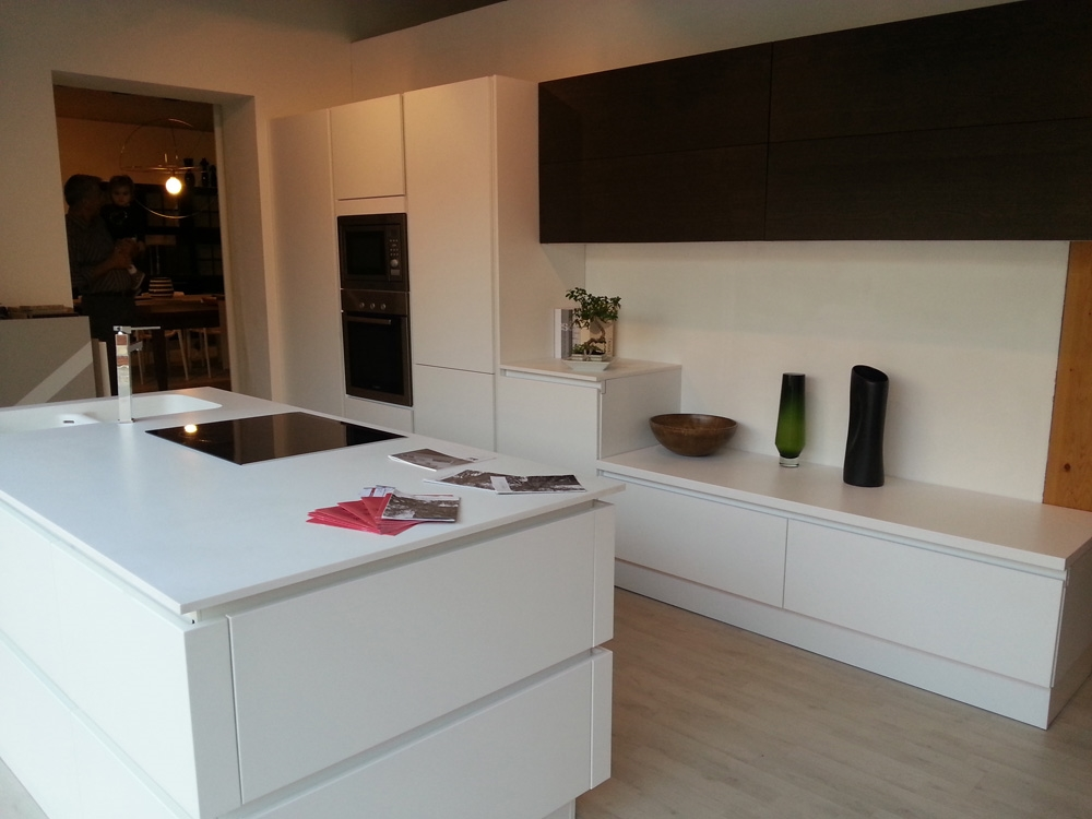 Cucina Zanotto Artigianale Moderna Laccato Opaco bianca