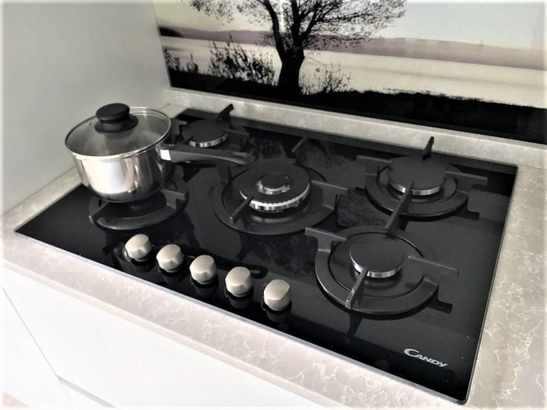 Cucina moderna lineare Dibiesse Spring gola a prezzo ribassato