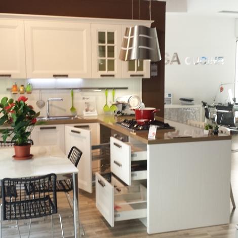 Stosa Cucine Cucina Beverly Classica Legno bianca  Cucine a prezzi scontati