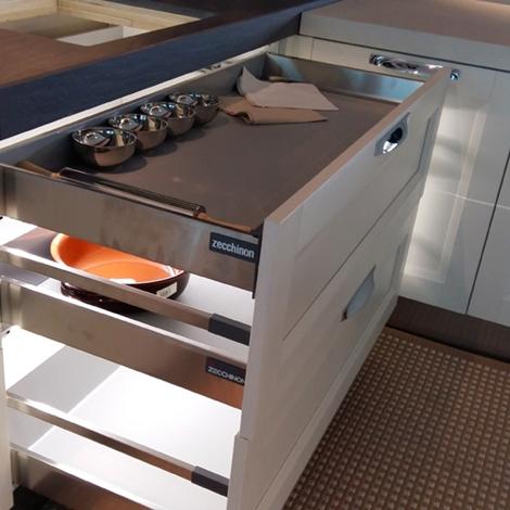Cucina Zecchinon Alpine Moderno Legno Bianca  Cucine a prezzi scontati