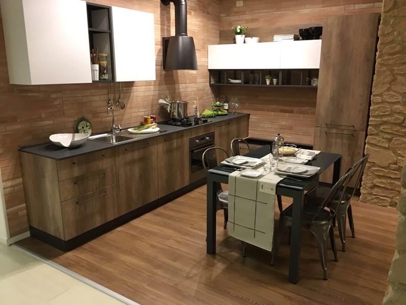 Cucina industriale ad angolo in offerta nuovimondi cucine