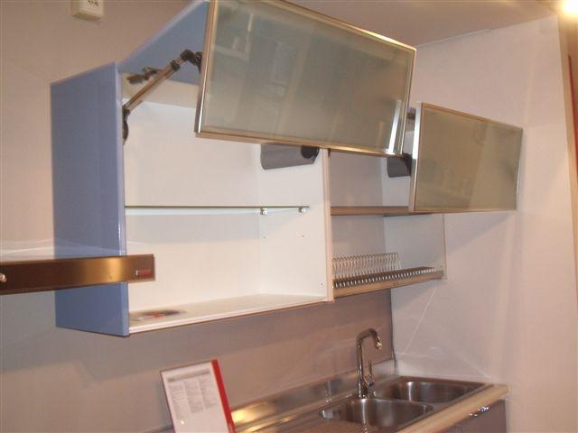 Cucina Scavolini Flirt Moderna Laccato Lucido azzurro