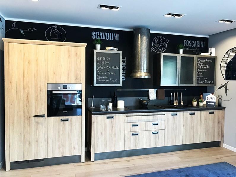 Outlet vendita cucina Scavolini  Modello Diesel