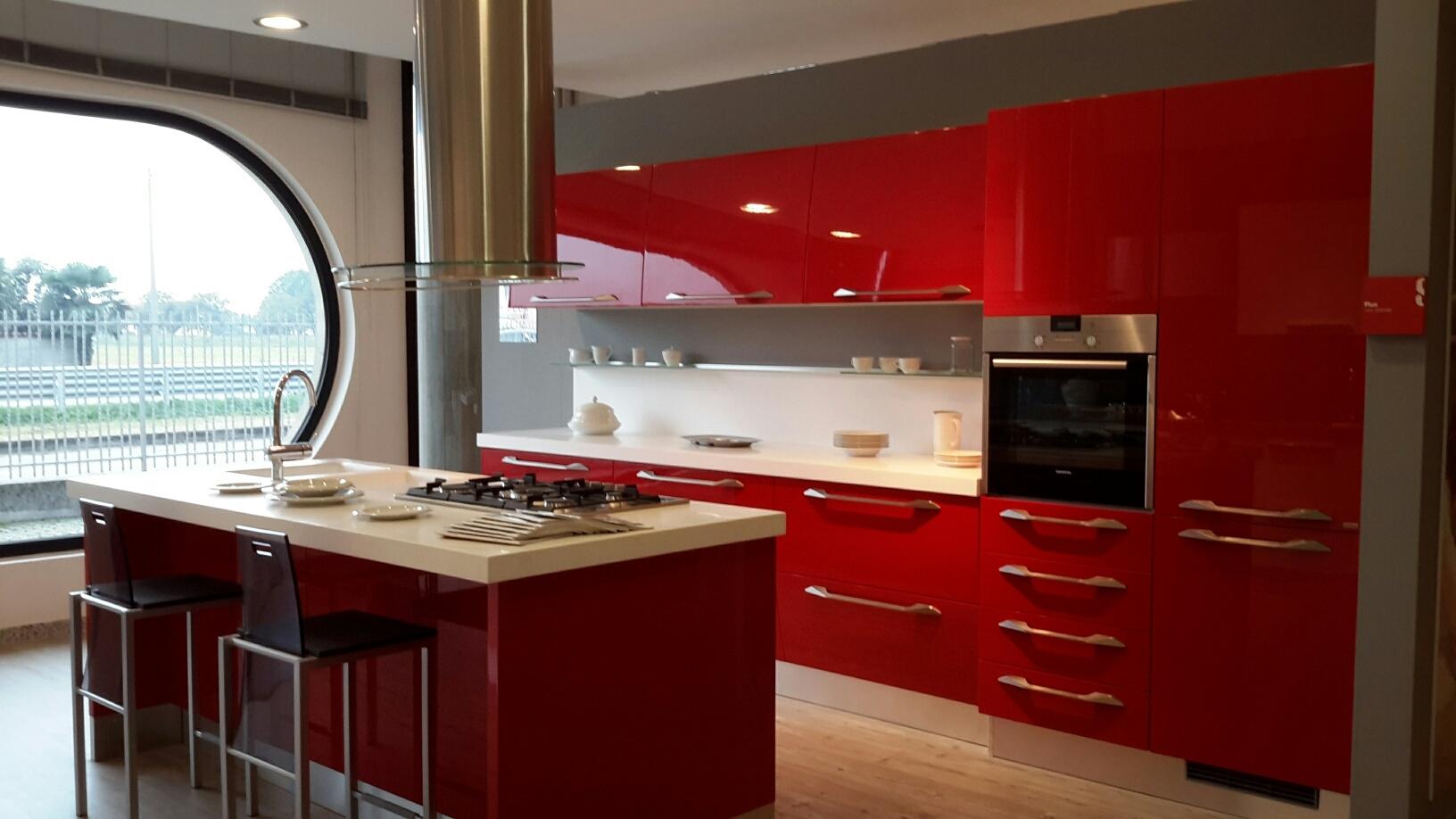 Cucina Scavolini Rossa Usata - Decorazioni per la casa, acconciatura ...