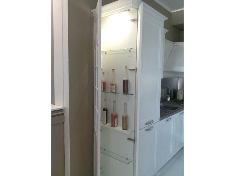 Stosa Cucine Cucina Beverly Provenzale Legno Bianca