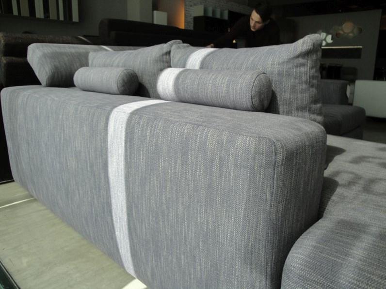 divani angolari con seduta estraibile e schienale reclinabile