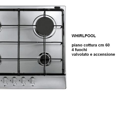 PIANO COTTURA WHIRLPOOL INOX  Elettrodomestici a prezzi