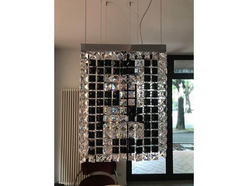Lampada a sospensione stile Design Crystal di Fendi casa a prezzi convenienti