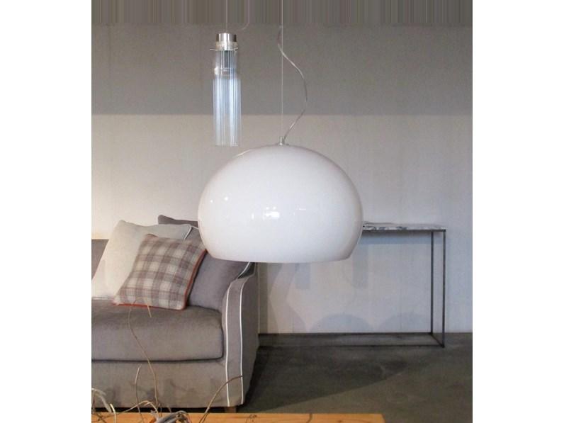 Lampada a sospensione stile Design Fly small di Kartell a prezzi convenienti